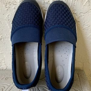 Easy sprit Blue TEXILE/MAN  walking shoes 6.5 m